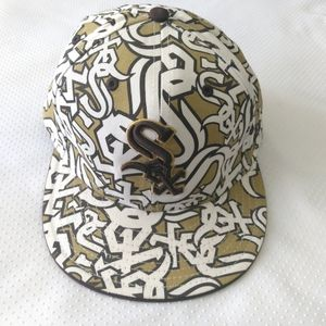 New Era 59FIFTY White Sox Hat Fitted 7 3/4